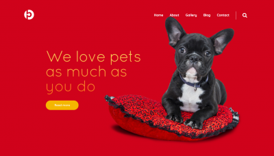 dog website templates