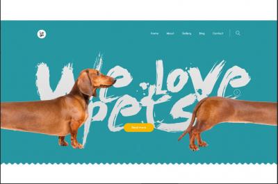 wordpress dog themes