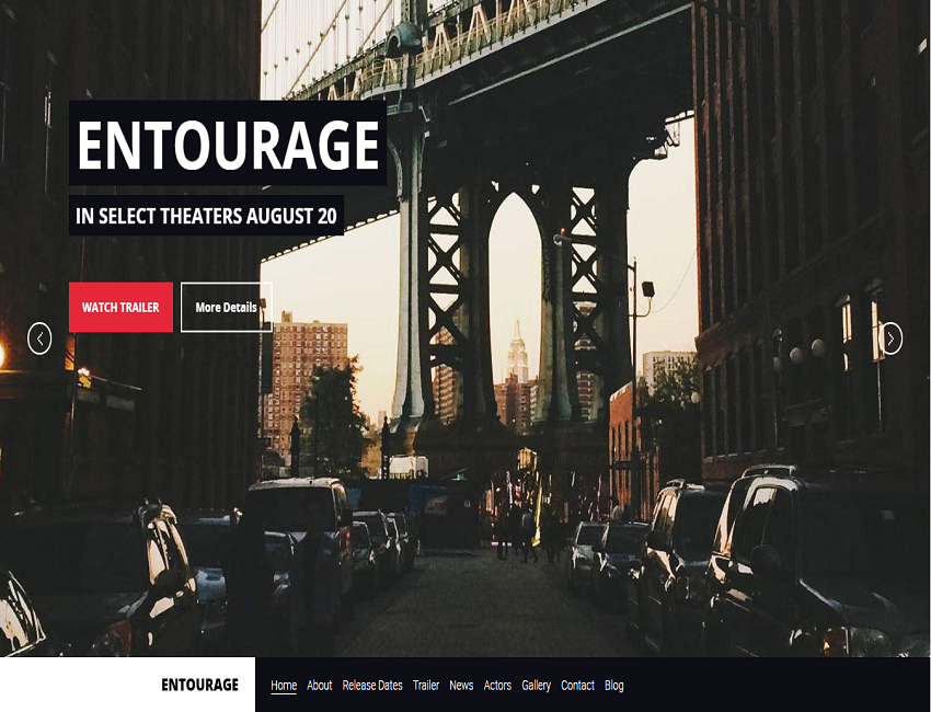 wordpress theme for movie