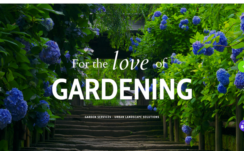 Are You Looking For A Stunning Garden WordPress Theme?