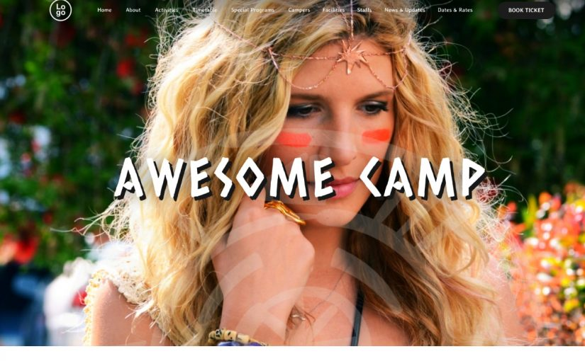 4+ Modern And Convenient Camping WordPress Theme 2017