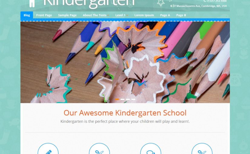Top 4 Kindergarten WordPress Theme Free And Premium