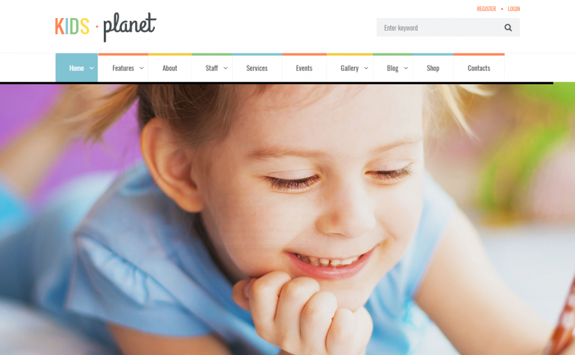 Kindergarten theme wordpress