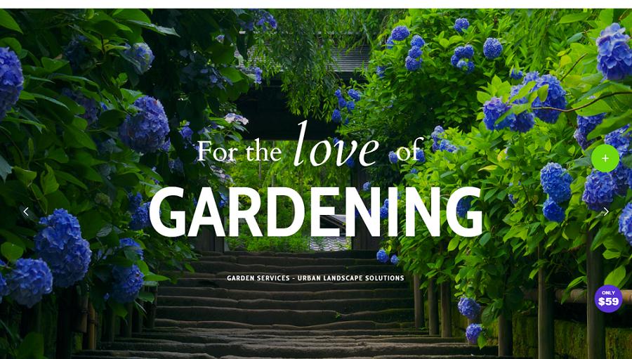 garden wordpress theme