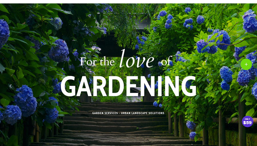 gardening wordpress theme