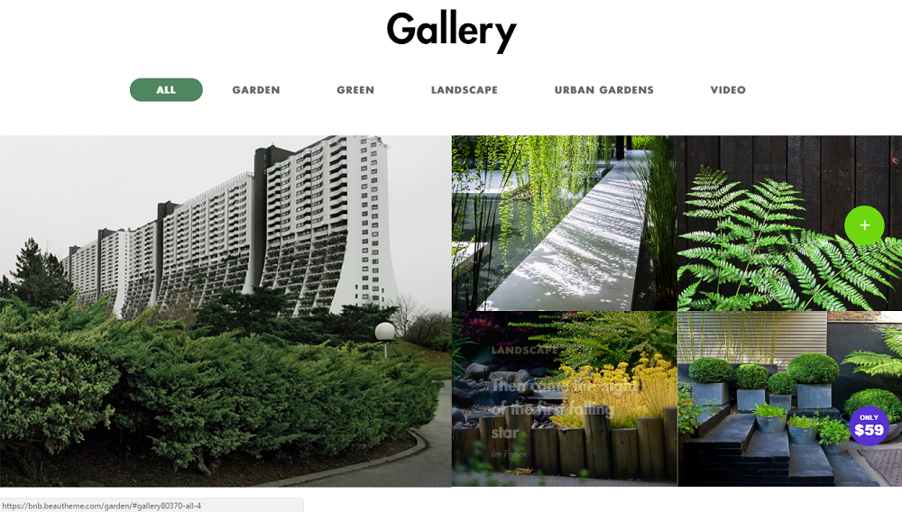 garden wordpress theme