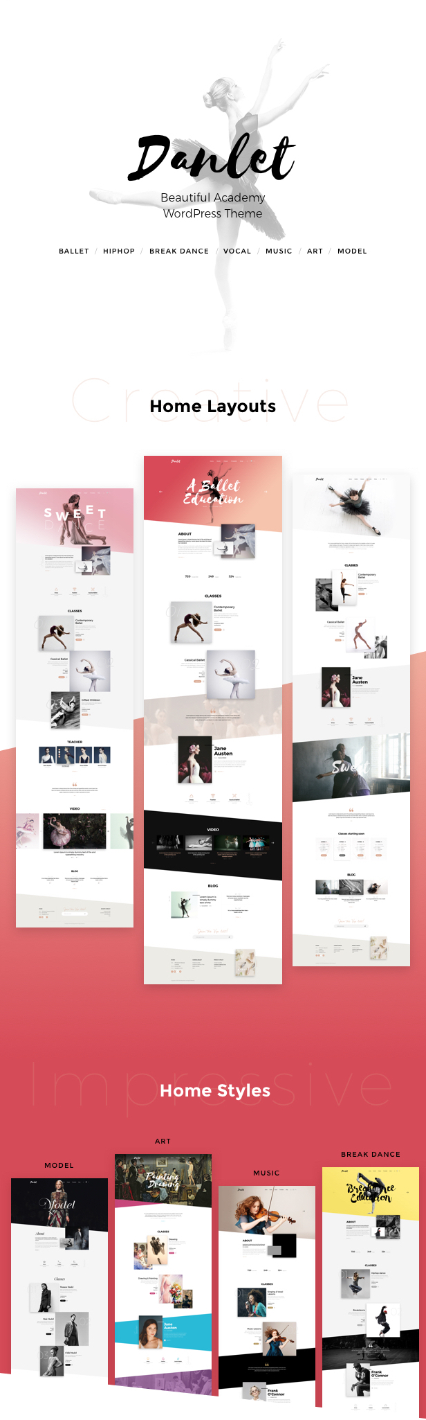 Danlet WordPress Theme