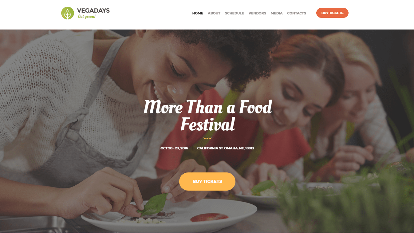 Festival WordPress Theme