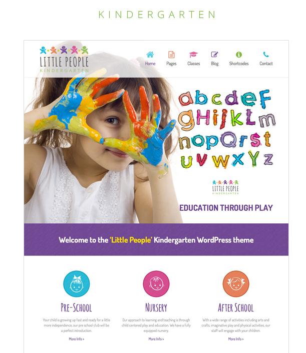12 best preschool and kindergarten website template beaupress