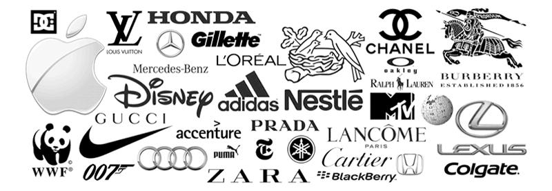 beau - thiết kế logo - màu trung tính - đen trắng