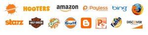 beau - thiết kế logo - màu cam