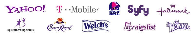 beau - thiết kế logo - màu tím