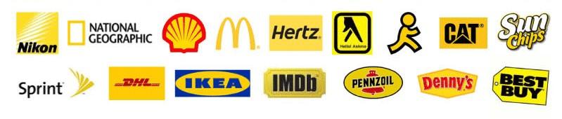 beau - thiết kế logo - màu vàng