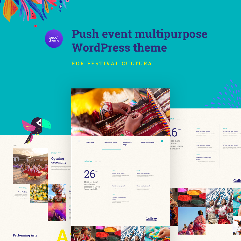 WordPress Party Theme 1