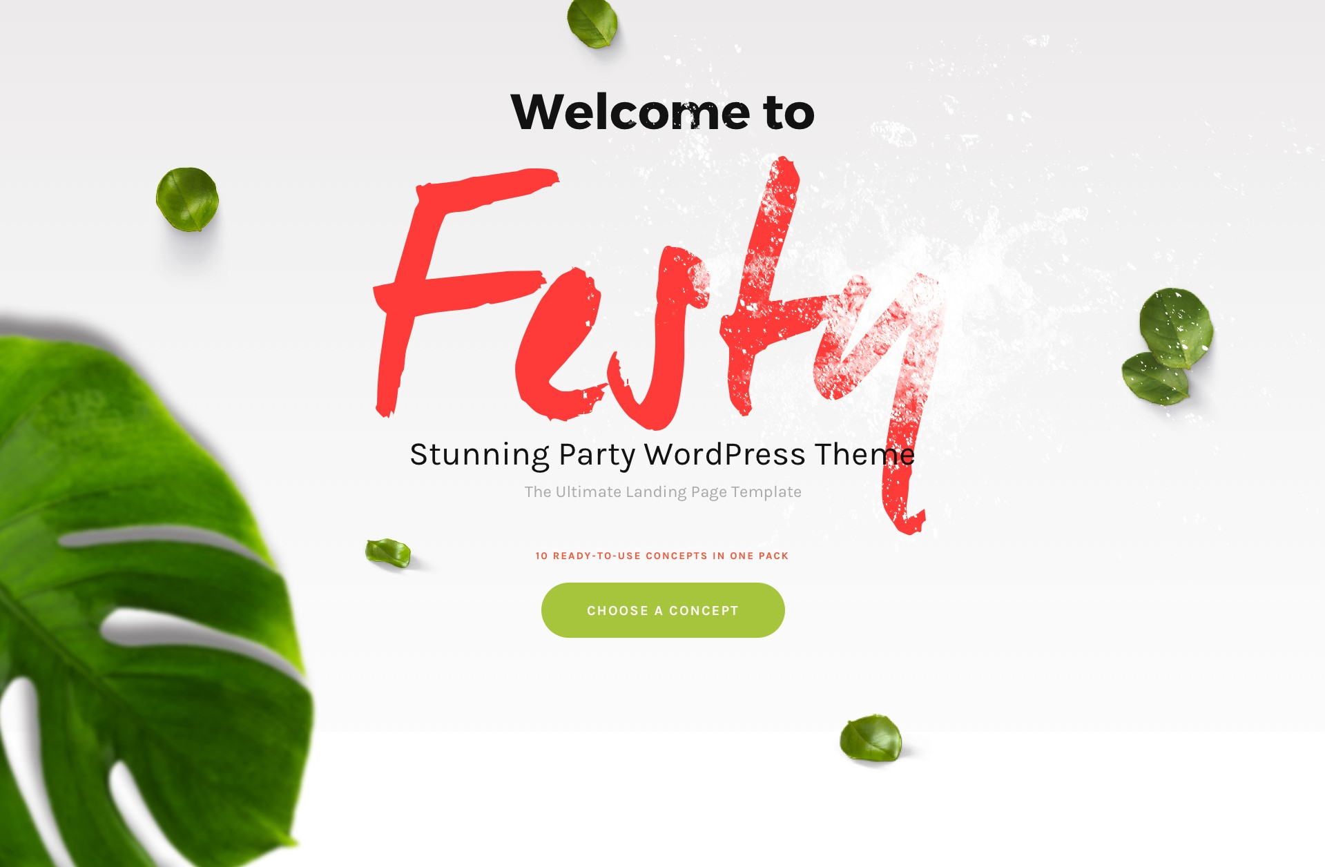 festy festival wordpress theme