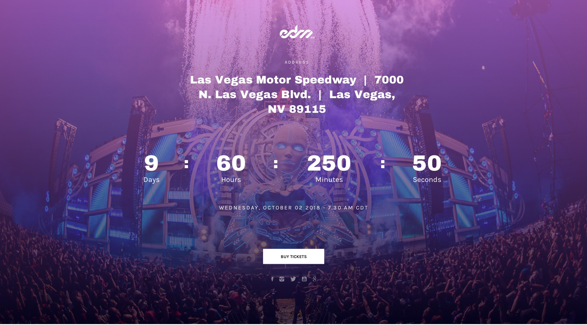 edm festy festival wordpress theme