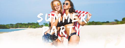 beach party wordpress party theme