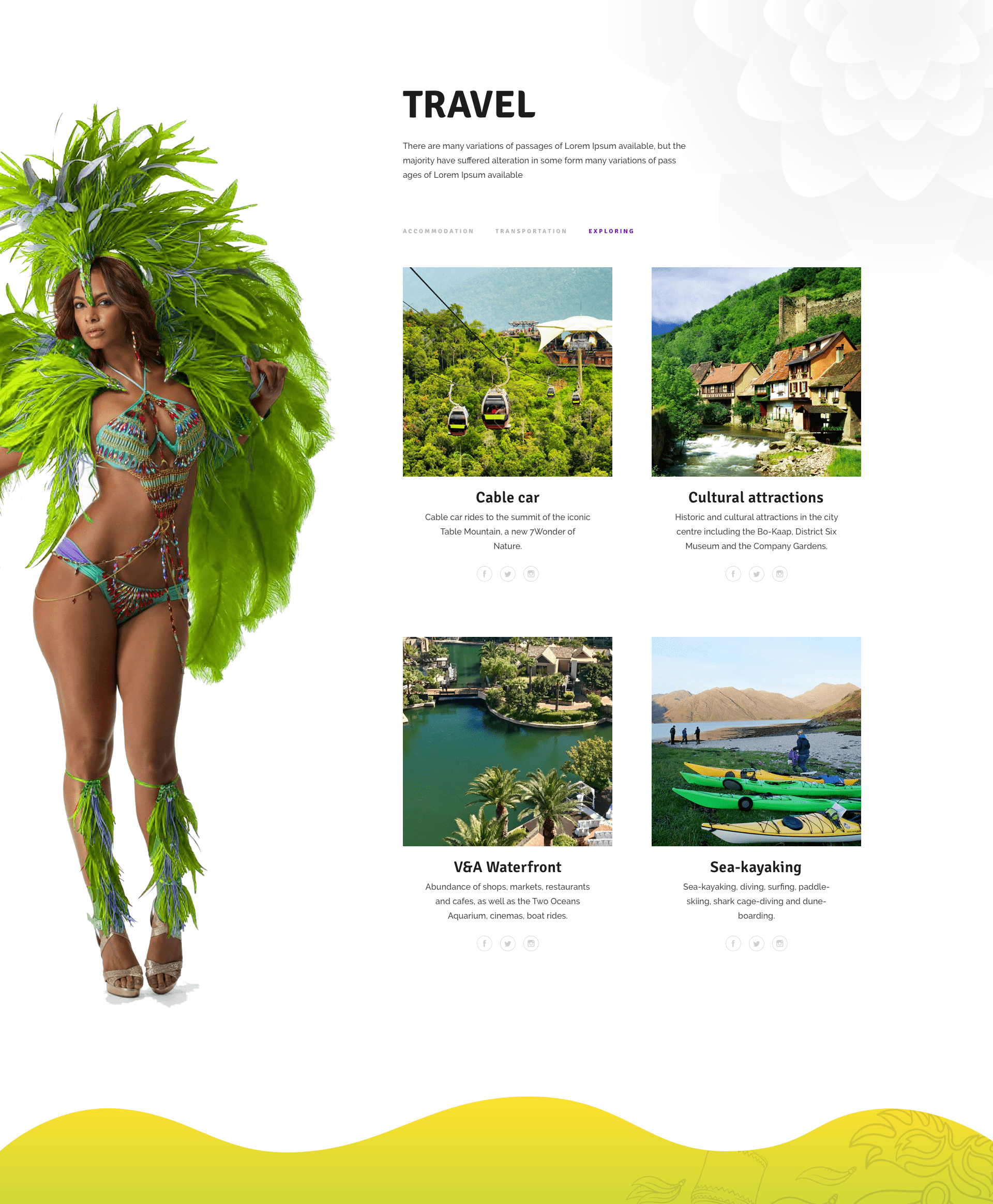 By using the stunning photos, trending layout and subtle combination between convenience and impression, I could tell you that, this theme has it all to take your party websites to the next level.
