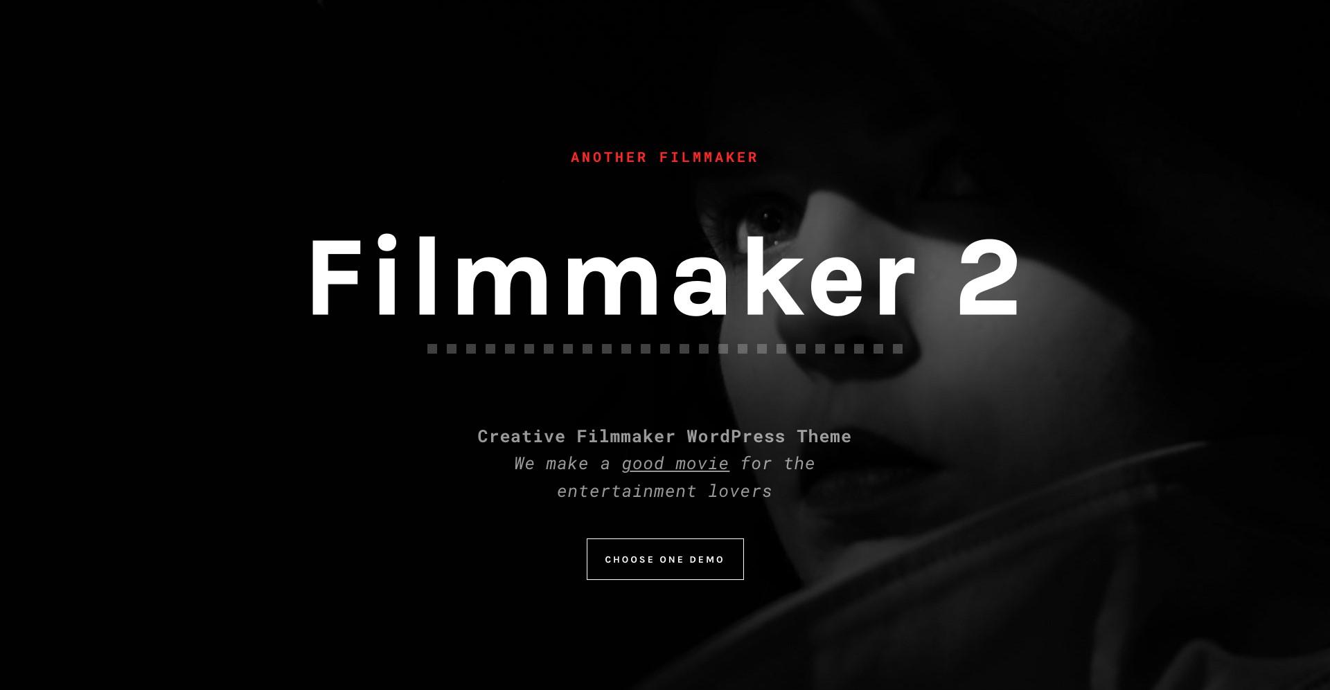 filmmaker 2 movie wordpress theme