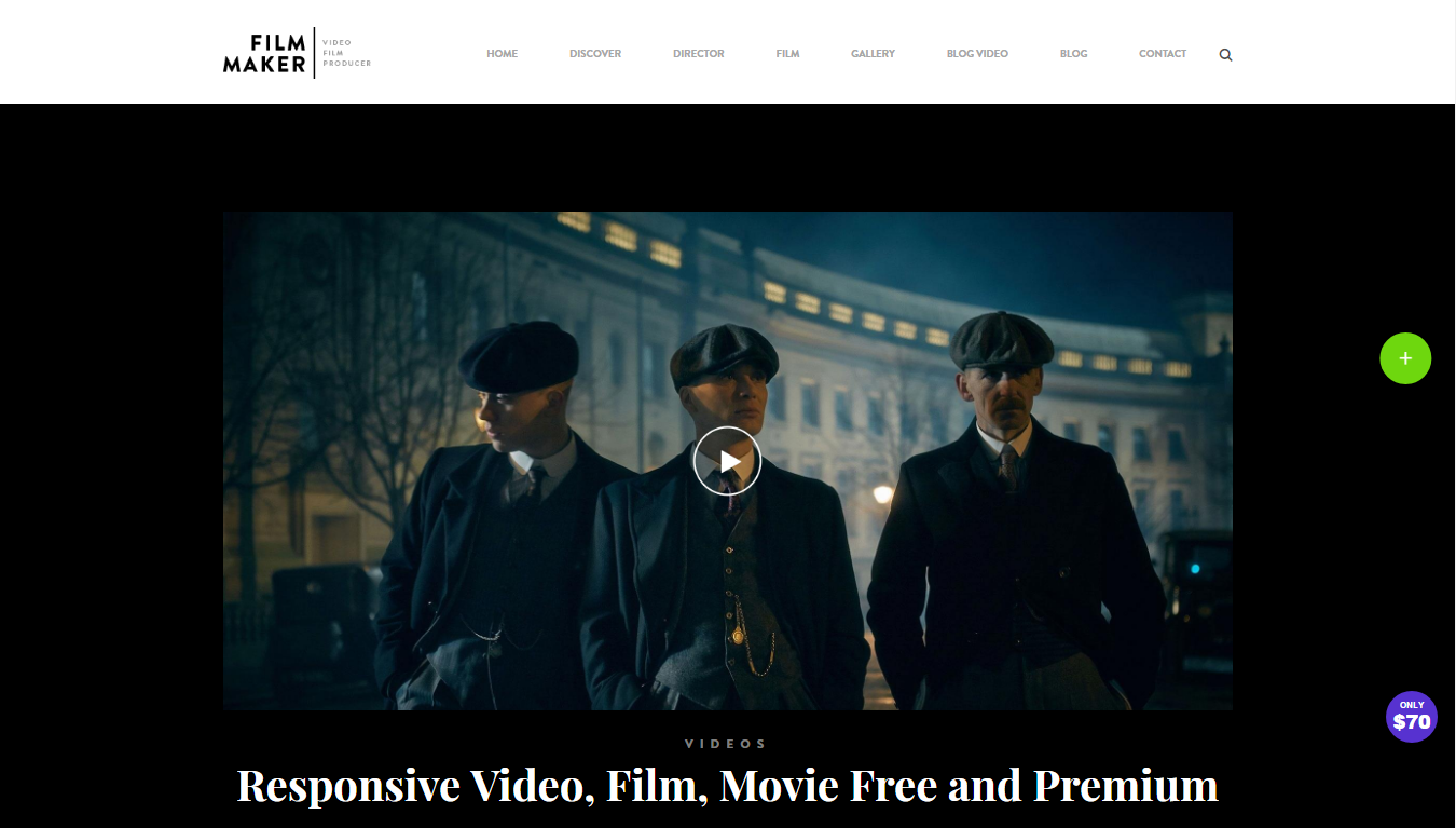 The Responsive And Modern Video Blog WordPress Theme