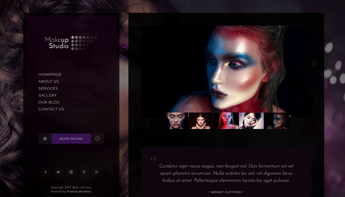 Are You Looking For An Suitable Makeup Website Templates?