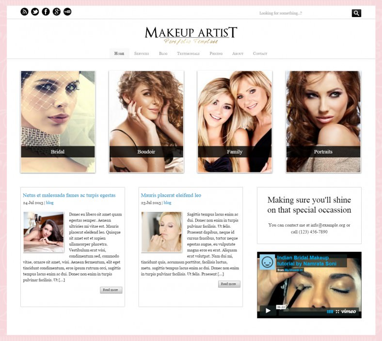 Click Here If You Need A WordPress Makeup Themes List