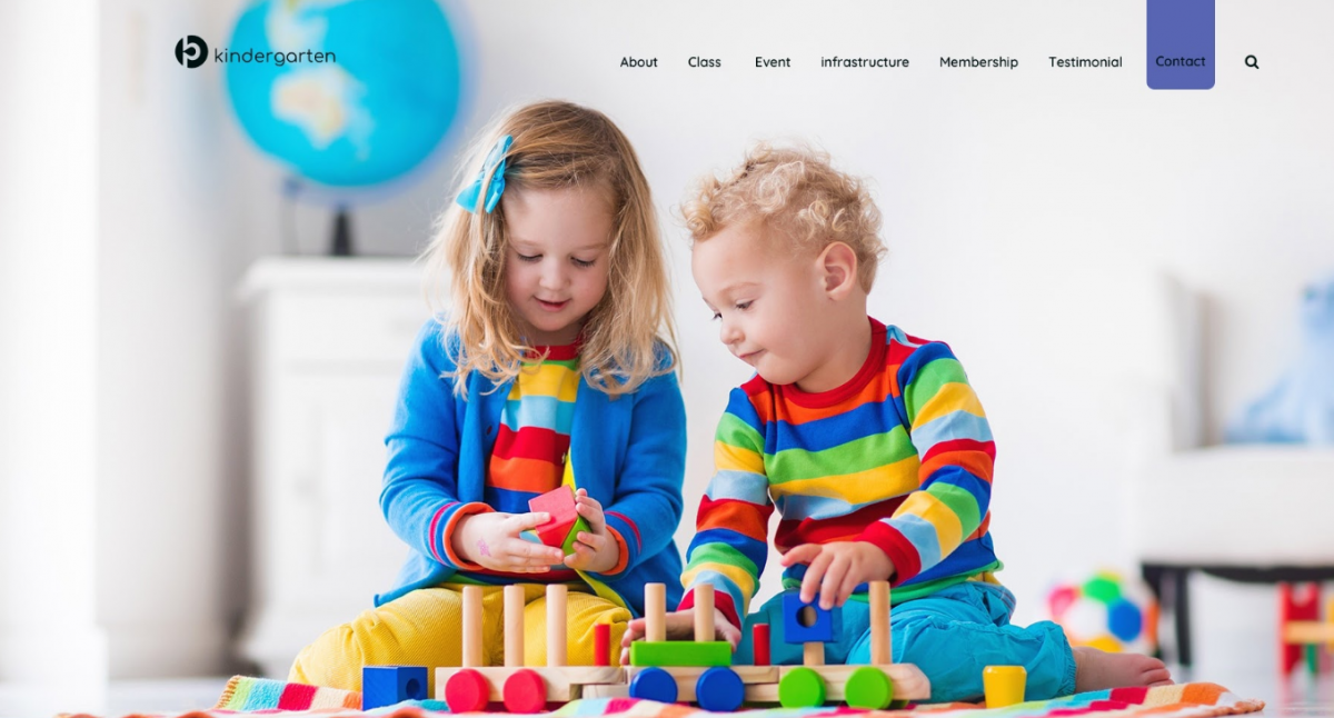 5+ Colorful And Stunning WordPress Kindergarten Theme 2017