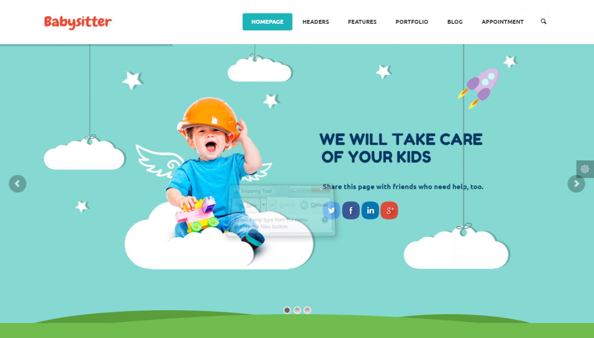 Preschool And Kindergarten WordPress Theme Free And Premium