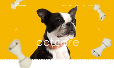 pet rescue wordpress theme